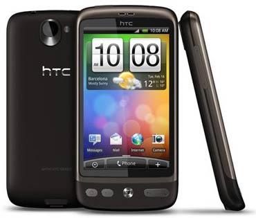 Smartphone HTC Desire mit T-Mobile Software Branding für 376€