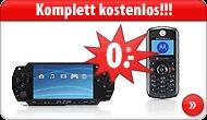 [Aktion] Apple iPod 8GB, Sony PSP Slim u.v.m komplett kostenlos mit Handyvertrag