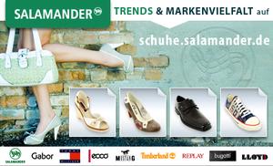 Günstige Markenschuhe mit 25€ Salamander-Gutschein für 5€ *Update*