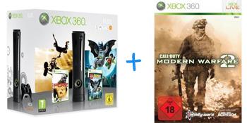 Call of Duty: Modern Warfare 2 gratis beim Kauf einer XBox 360 (Elite oder Arcade) bei Amazon