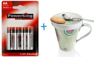 Für 4,05€ kostenlos bei Otto bestellen - Gratis Batterien und Kaffeebecher