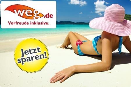 100€ weg.de Gutschein für 10€ - Perfekt für Last Minute Reisen *Update*