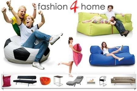 50€ fashion4home Gutschein für 20€ - XXL Sitzsäcke für 35€ *UPDATE*