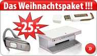 [Gratis] Drucker + Headset + USB-Stick + 15€
