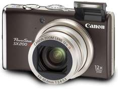 Canon PowerShot SX200 IS für 199€ bei Amazon