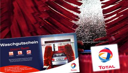 TOTAL Autowäsche inkl. Lotuspolitur für 7€ *UPDATE* Wieder da