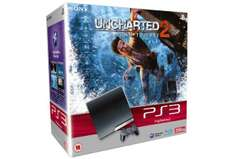 PS3 Slim 250GB + Uncharted 2 für 269€