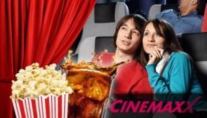 Cinemaxx-Kinotickets mit Cola und Popcorn bei DailyDeal