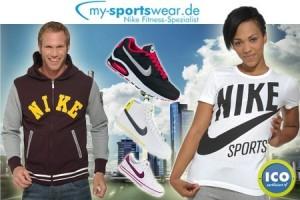 50€ Nike Sportmode-Gutschein für 20€ bei Groupon