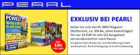 Jahresabo PC-Welt (DVD-Ausgabe) für nur 18€ *Update* Nun doch!