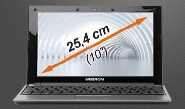 """10"""" Netbook Medion Akoya E1222 (B-Ware) für 205€ *UPDATE*"""