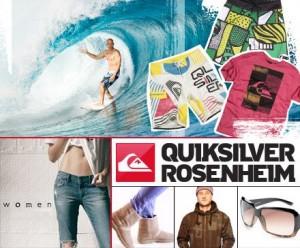 50€ Gutschein auf Quicksilver und Roxy ab 15€ (MBW: 60€)