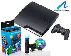 Sony Playstation 3 320GB + Move Starter Paket für 290€