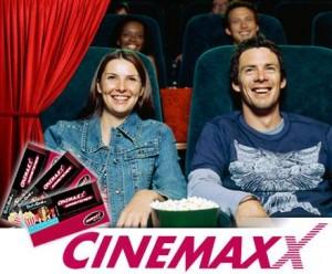 44% sparen auf CinemaxX Ticket-Package. 5er Pack für 29,50€ bei DailyDeal