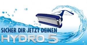 Kostenlosen Wilkinson Hydro 5 Rasierer bei Facebook sichern
