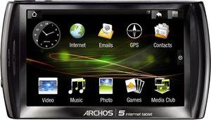 Archos 5 Internet Tablet 160GB (Android) für 219€ bei Ebay