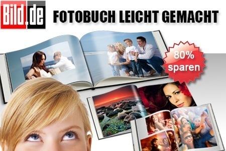 25€ Bild.de Fotobuch Gutschein für 5€