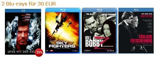 [Blu-ray] 2 Blu-rays für 30€ bei Amazon