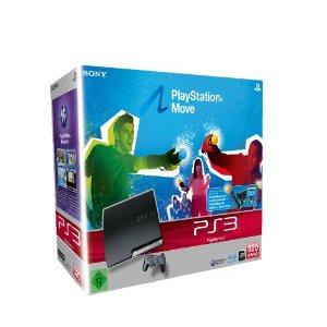Playstation 3 320GB + Move Starter Pack für 298,99€ bei Amazon