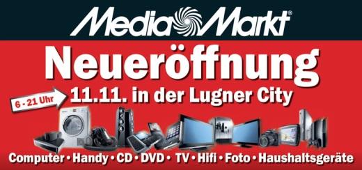 Media Markt Lugner City - Eröffnungsangebote für den 11.11.