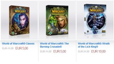 Günstiger World of Warcraft Einstieg (Basisspiel + 2 Addons) für 20€