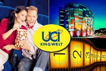 5x UCI KINOWELT Gutscheine (inkl. Zuschläge) für 28€ - einmal Kino für 5,60€