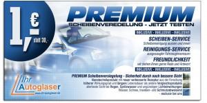 Autoscheibenreinigung inkl. Innenraumreinigung für 1€