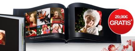 Hardcover Fotobuch (A4, 26 Seiten) zu Weihnachten für nur 4,90€ - noch 4 Tage gültig