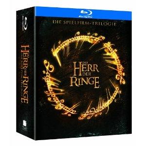 Der Herr der Ringe - Spielfilmtrilogie (Blu-ray) für 26€