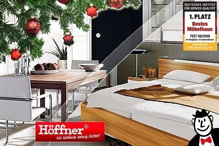 50€ Gutschein für Möbelhaus Möbel Höffner für 20€