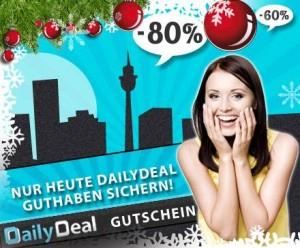 25€ DailyDeal Guthaben für 13,50€ *UPDATE* verlängert bis 19:30