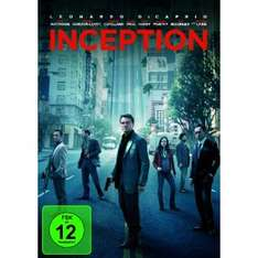 Inception Blu-Ray für 10€ - DVD ab 5€