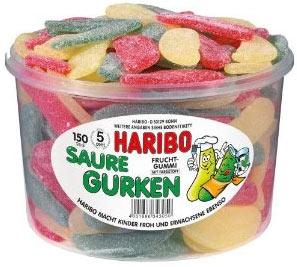 Haribo Saure Gurken als Amazon Mitbestellsel (1,35kg) für 2,79€
