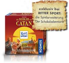 """Siedler von Catan Erweiterung """"Der Schokoladenmarkt"""" kostenlos (+ Basisspiel für 15€)"""