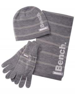 Bench Winterset (Mütze, Handschuhe, Schal) für ~18€ bei Zavvi