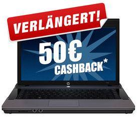 Ab Mittag HP 625 Notebook für 229€ (inkl. 50€ Cashback) *Update*