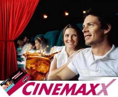 CinemaxX Kinoticket inkl. Softdrink 0.5l für 7,50€ *Update*