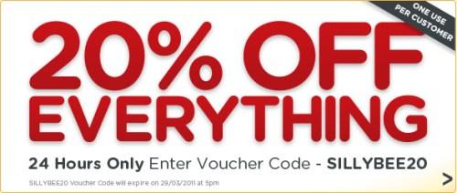20% Rabatt auf Alles bei Bee.com - Homefront für 27€ und mehr