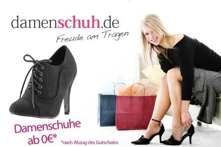 21€ Rabatt bei Damenschuh.de mit Groupon Gutschein