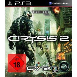Amazon-Blitzangebote: Crysis 2 für PC, PS3 und XBox ab 25€