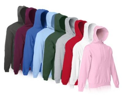 Hoodies und T-Shirts (Fruit of the Loom) günstig bei Ebay