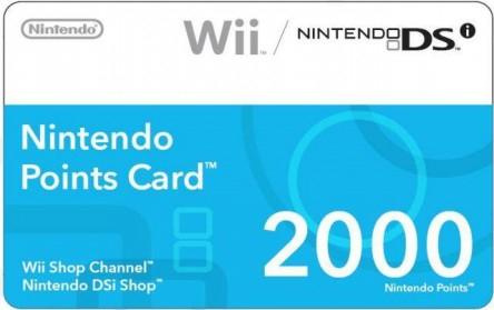 Günstige Wii Points - 2000 Punkte für ~11€ *UPDATE* wieder zu haben