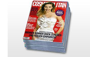 Jahresabo: Cosmopolitan für effektiv 1 Euro