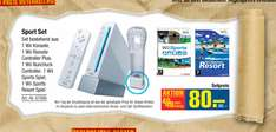 Preisknüller morgen bei Metro: Nintendo Wii Sports Resort Pack für 96€ statt 139€