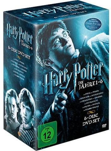 Harry Potter DVD-Box (Teil 1-6) für 15,99€ inkl. Versand bei Amazon