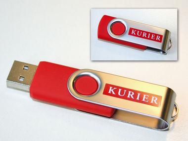 Gratis 1GB USB-Stick mit Kurier Test-Abo