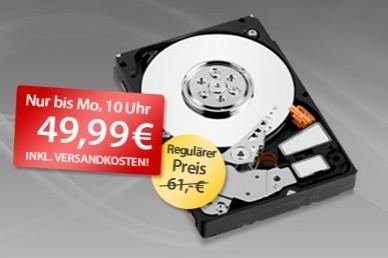 """Interne Festplatte 2TB """"Hitachi Deskstar"""" für 50€ bei MeinPaket"""