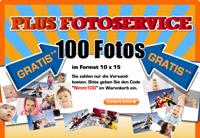 100 kostenlose Fotoabzüge + 3€ Versand