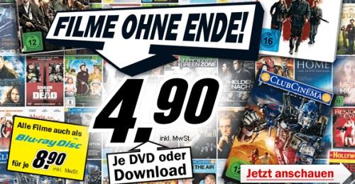 Amazon-Konter: Über Hundert Blu-Rays für je 8,90€ (DVDs für je 4,90€) *UPDATE* neue Filme