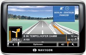 Navigon 4350 max Europe (40 Länder) für 99€ - generalüberholt